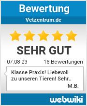 Bewertungen zu vetzentrum.de