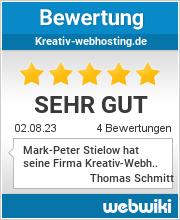 Bewertungen zu kreativ-webhosting.de