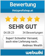 Bewertungen zu heizprofishop.at