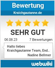 Bewertungen zu kraichgautanne.de