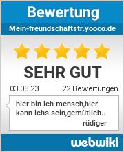 Bewertungen zu mein-freundschaftstr.yooco.de