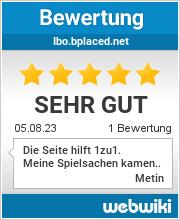 Bewertungen zu ibo.bplaced.net