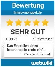 Bewertungen zu immo-monopol.de