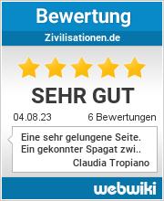 Bewertungen zu zivilisationen.de