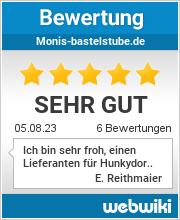 Bewertungen zu monis-bastelstube.de