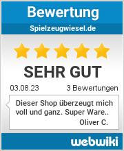Bewertungen zu spielzeugwiesel.de