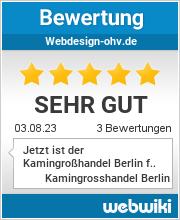 Bewertungen zu webdesign-ohv.de