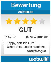 Bewertungen zu akimen.de