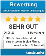 Bewertungen zu schluesseldienst-luebeck-umgebung.de