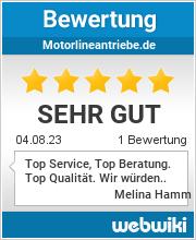 Bewertungen zu motorlineantriebe.de