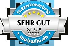 Bewertungen zu viacheck.de