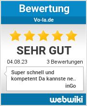 Bewertungen zu vo-la.de