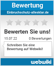 Bewertungen zu einbruchschutz-allesklar.de