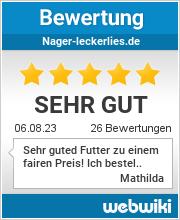 Bewertungen zu nager-leckerlies.de