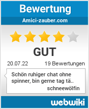 Bewertungen zu amici-zauber.com