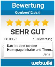 Bewertungen zu querbeet12.de.tl
