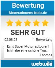 Bewertungen zu motorradtouren-basis.de