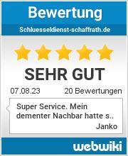 Bewertungen zu schluesseldienst-schaffrath.de