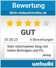 Bewertungen zu mein-einkaufstrolley.de