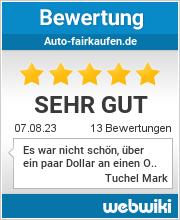 Bewertungen zu auto-fairkaufen.de