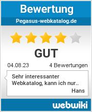 Bewertungen zu pegasus-webkatalog.de