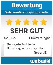 Bewertungen zu videokonferenzsysteme.info