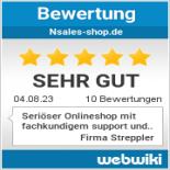 Bewertungen zu nsales-shop.de