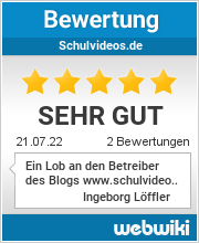 Bewertungen zu schulvideos.de