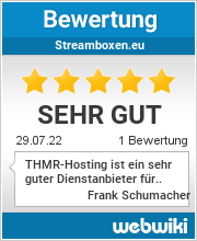 Bewertungen zu streamboxen.eu