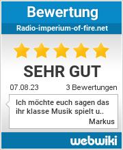 Bewertungen zu radio-imperium-of-fire.net
