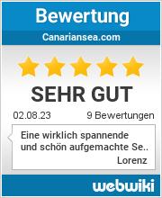 Bewertungen zu canariansea.com
