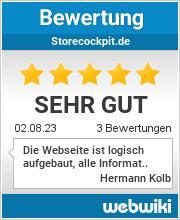 Bewertungen zu storecockpit.de