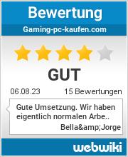 Bewertungen zu gaming-pc-kaufen.com