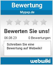 Bewertungen zu mypxp.de