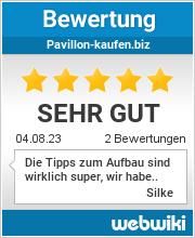 Bewertungen zu pavillon-kaufen.biz