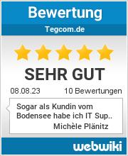 Bewertungen zu tegcom.de
