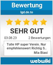 Bewertungen zu igd.de.to