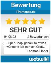Bewertungen zu tiramondo.de