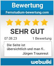 Bewertungen zu fernstudium-bewertung.com