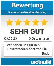 Bewertungen zu rasenmaeher-kaufen.org
