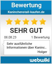 Bewertungen zu kaninchenstall-kaufen.de