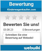 Bewertungen zu kinderwagenkaufen.com