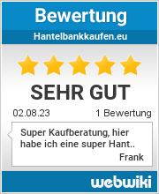 Bewertungen zu hantelbankkaufen.eu