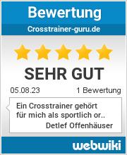 Bewertungen zu crosstrainer-guru.de