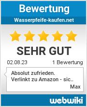 Bewertungen zu wasserpfeife-kaufen.net