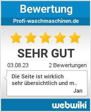 Bewertungen zu profi-waschmaschinen.de