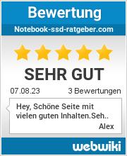 Bewertungen zu notebook-ssd-ratgeber.com