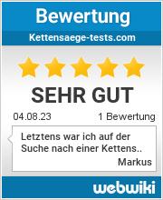Bewertungen zu deine-kettensaege.de
