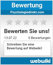 Bewertungen zu psychologiedirekt.com