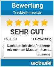 Bewertungen zu trackball-maus.de